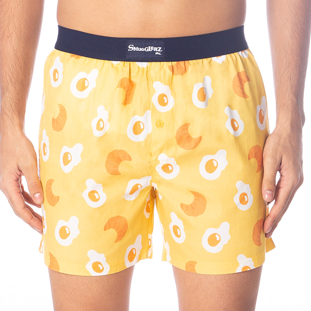 Breakfast Lunch Dinner Boxer Pack- (Pack of 3 pc Boxers)