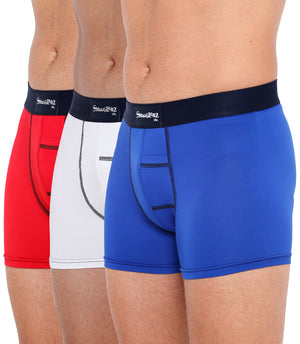 TRILOGY PACK - Royal Blue / White / Red  - 3 pc pack