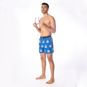 Palm Tree-Navy-Boxers