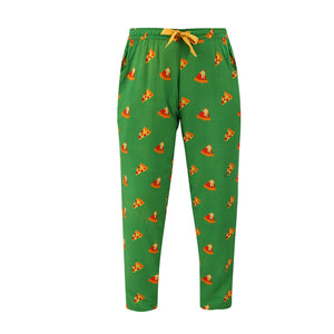 Women's-Pyjamas-Pizza-Green