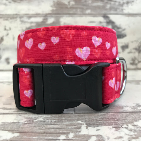 **NEW** Love Hearts - Dog Collar