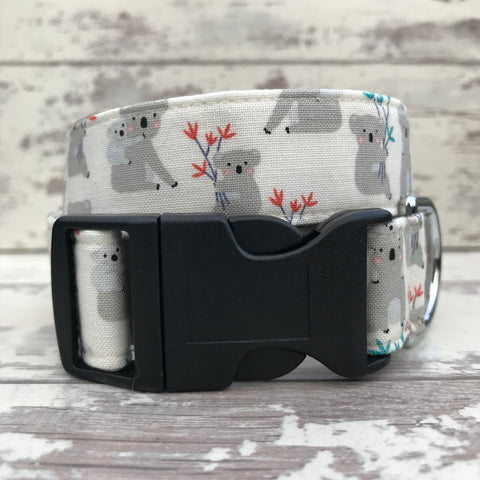 Koalas - Cream - Dog Collar