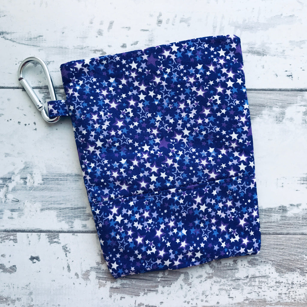 Purple Milky Way Treat & Poobag Holder
