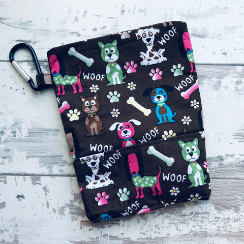 Woof Treat & Poo Bag Holder