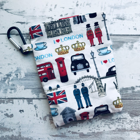I Love London Treat & Poobag Holder