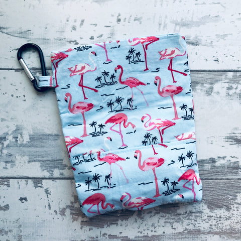 Flamingo Treat & Poobag Holder