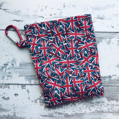 Union Jack Treat & Poobag Holder