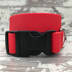Candy Red Dirty Dog Collar - Large size