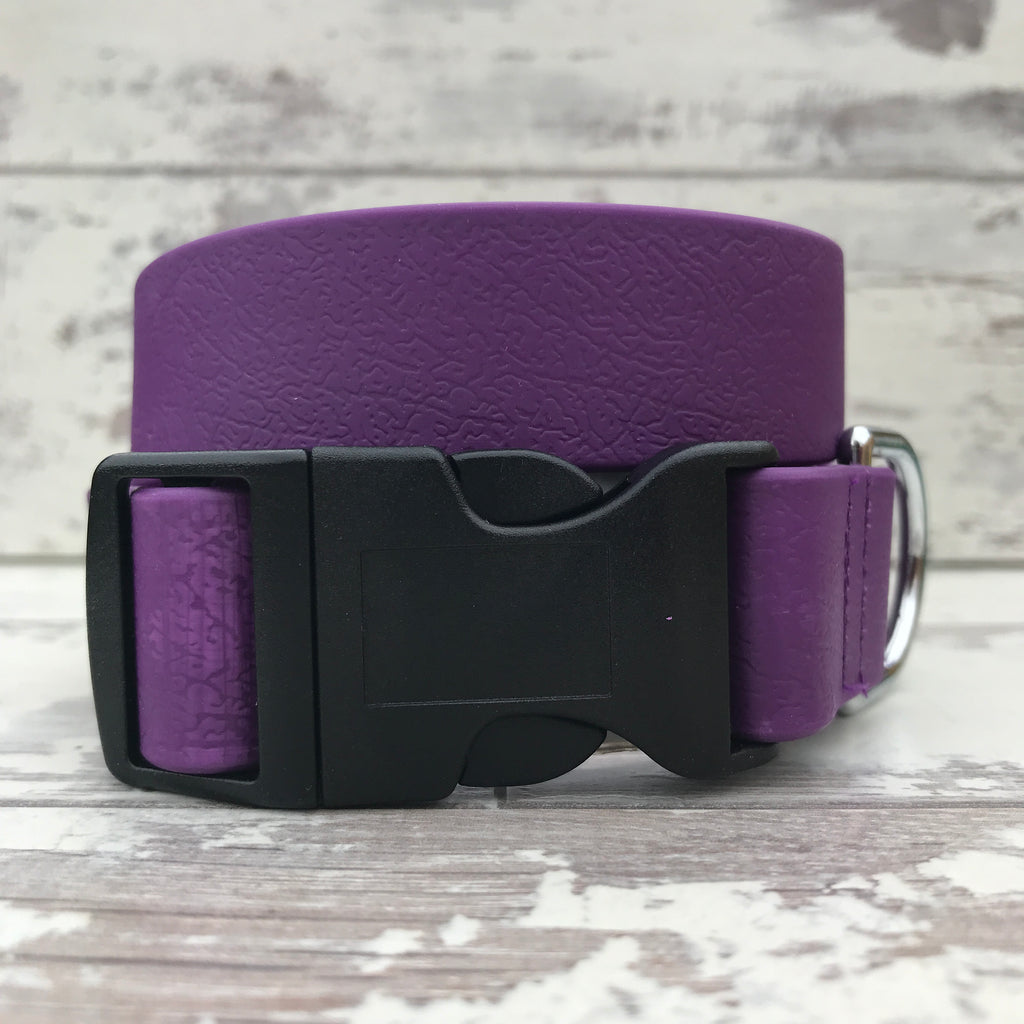 Purple Dirty Dog Collar - Large size