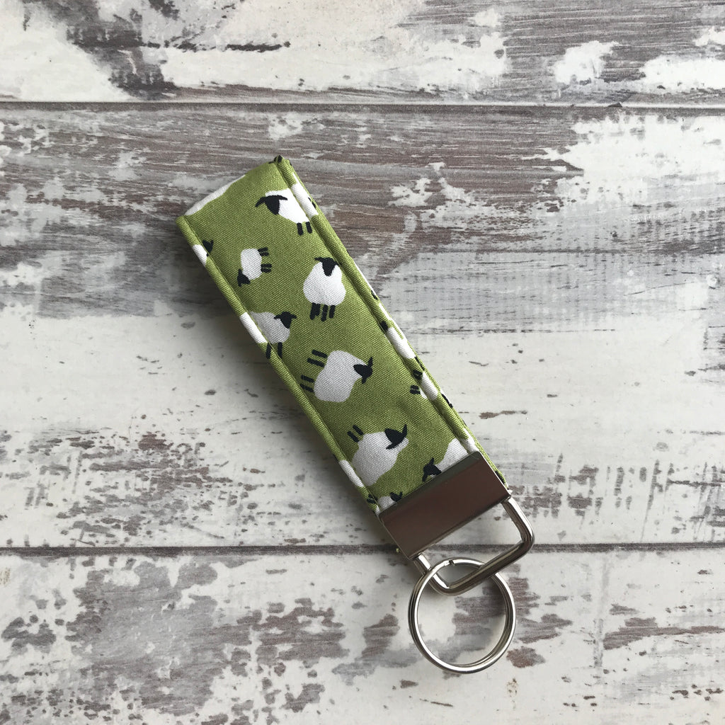 **NEW** Sheep on the Green Key Ring Fob