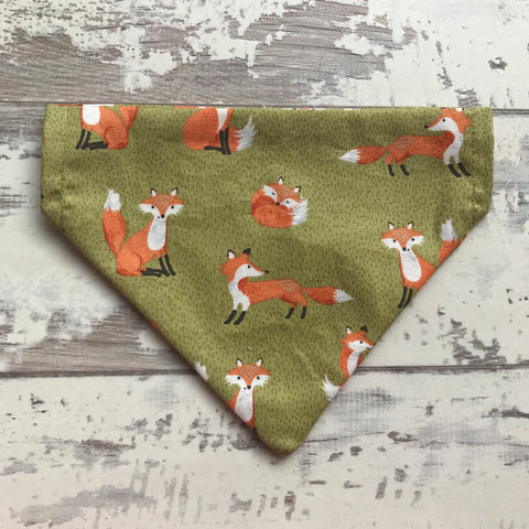 Forest Foxes Dog Bandana