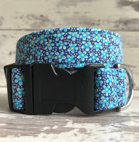 Felicia Daisies - Dog Collar