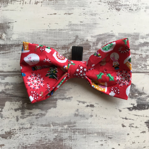 Jolly Christmas in Red Bow Tie