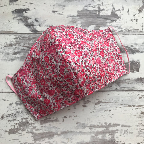 Liberty Phoebe Floral Face Mask