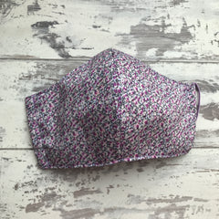 Lilac Speckles Face Mask