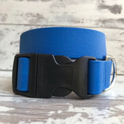 Royal Blue Dirty Dog Collar
