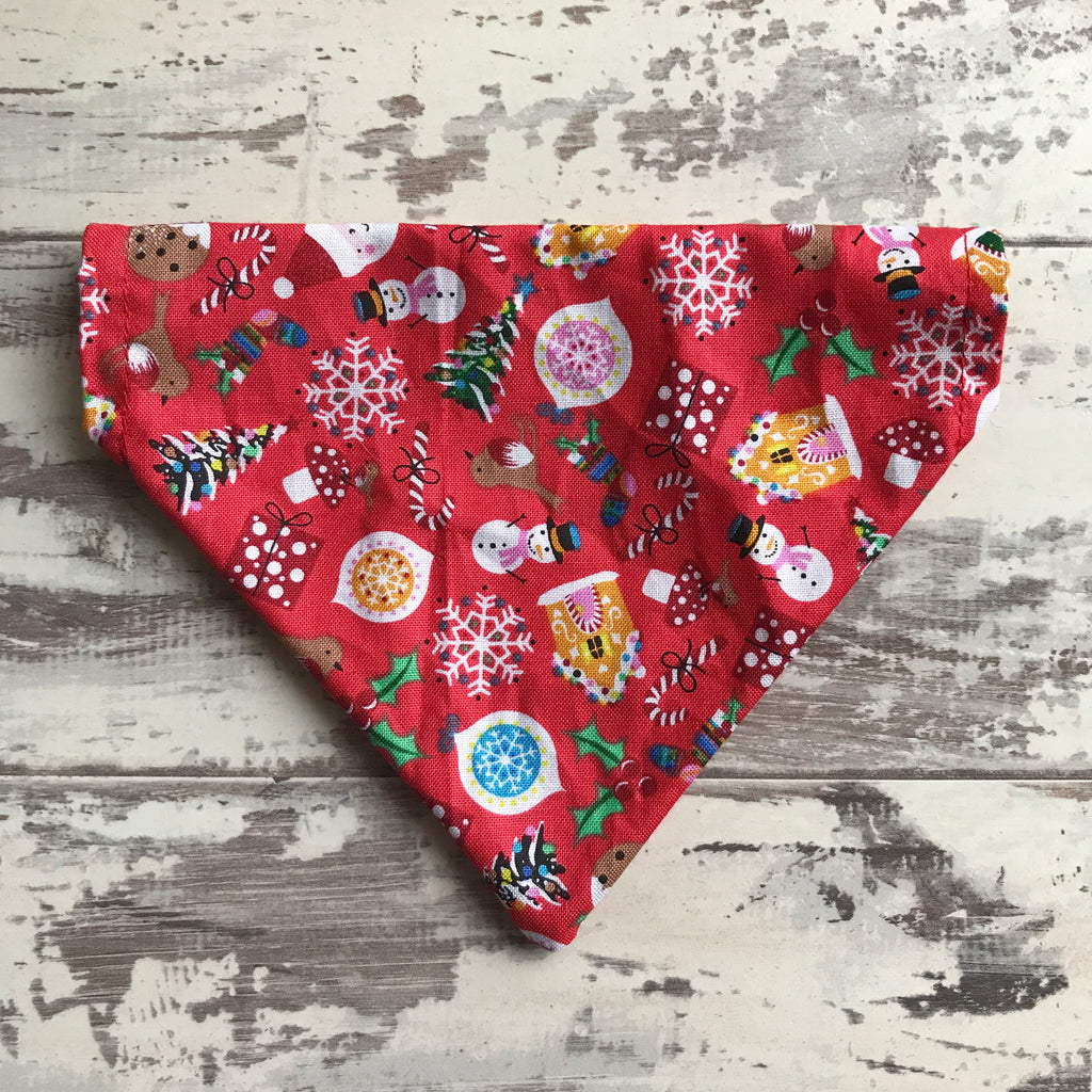 Jolly Christmas - Red - Bandana