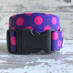 Grape Spots - Dog Collar