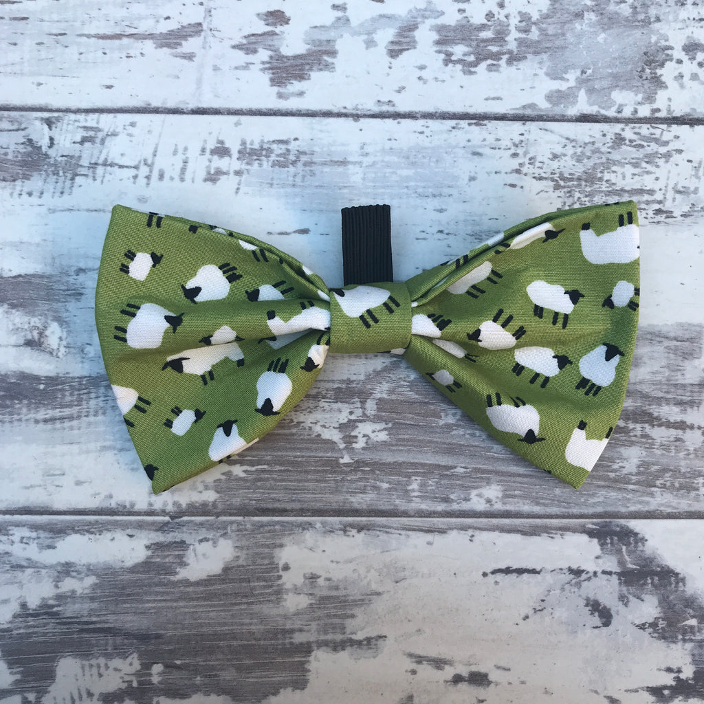 **NEW** Sheep on the Green Bow Tie