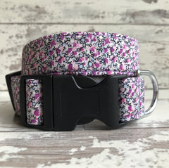 Lilac Speckles - Dog Collar