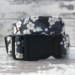 Midnight Blossom - Dog Collar