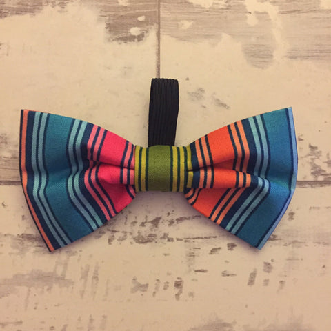 The Black Dog Company Bow Ties Bold Stripe Bow Tie