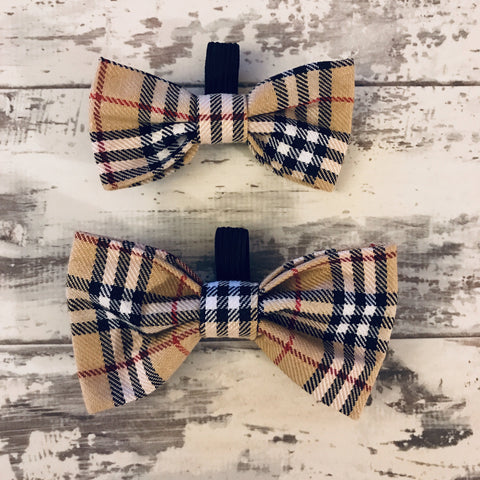 The Black Dog Company Bow Ties Small Burnberry Tartan Bow Tie