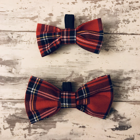 The Black Dog Company Bow Ties Small Royal Stewart Tartan Bow Tie