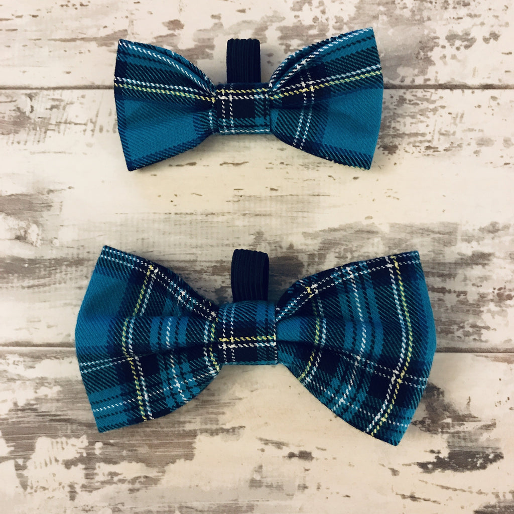 The Black Dog Company Bow Ties Small Twilight Tartan Bow Tie