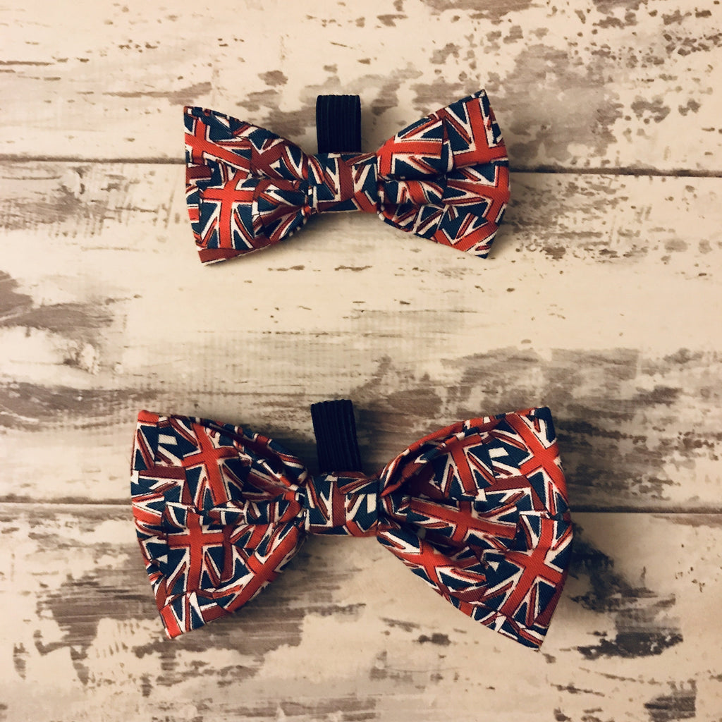The Black Dog Company Bow Ties Small Union Jack Bow Tie