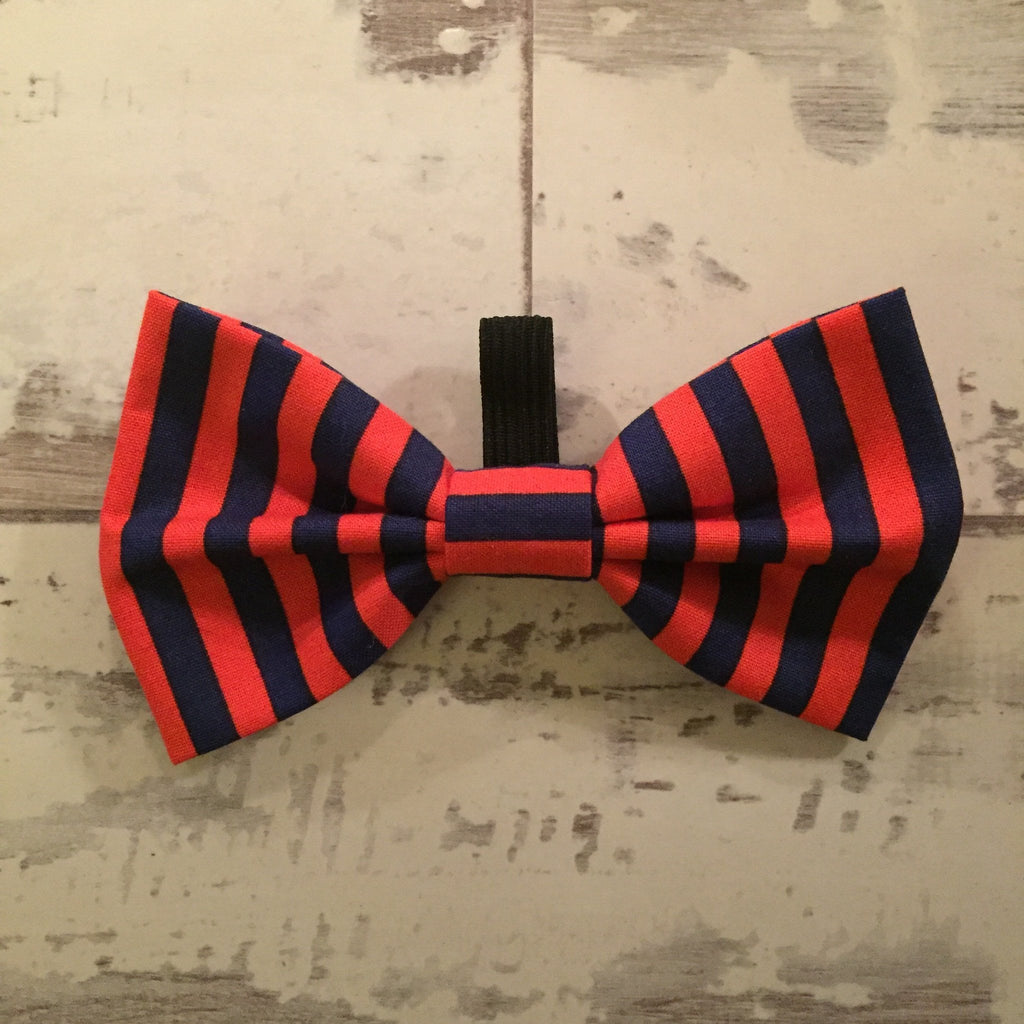 The Black Dog Company Bow Ties Twighlight Stripe Bow Tie
