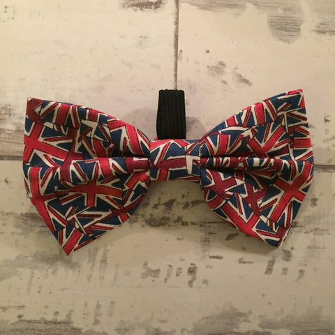 The Black Dog Company Bow Ties Union Jack Bow Tie