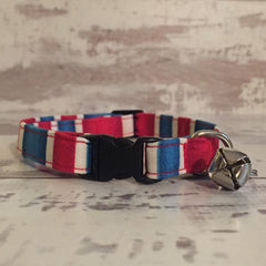 The Black Dog Company Cat Collars Striped London - Cat Collar