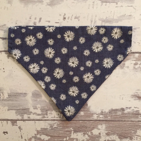 The Black Dog Company Denim Daisies - Bandana