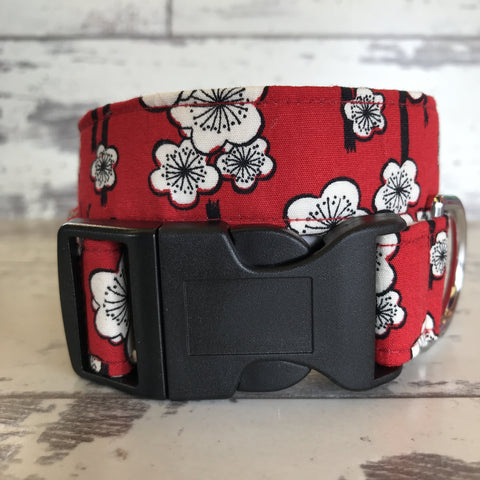 The Black Dog Company Handmade Dog Collars Bamboo Blossom - Dog Collar