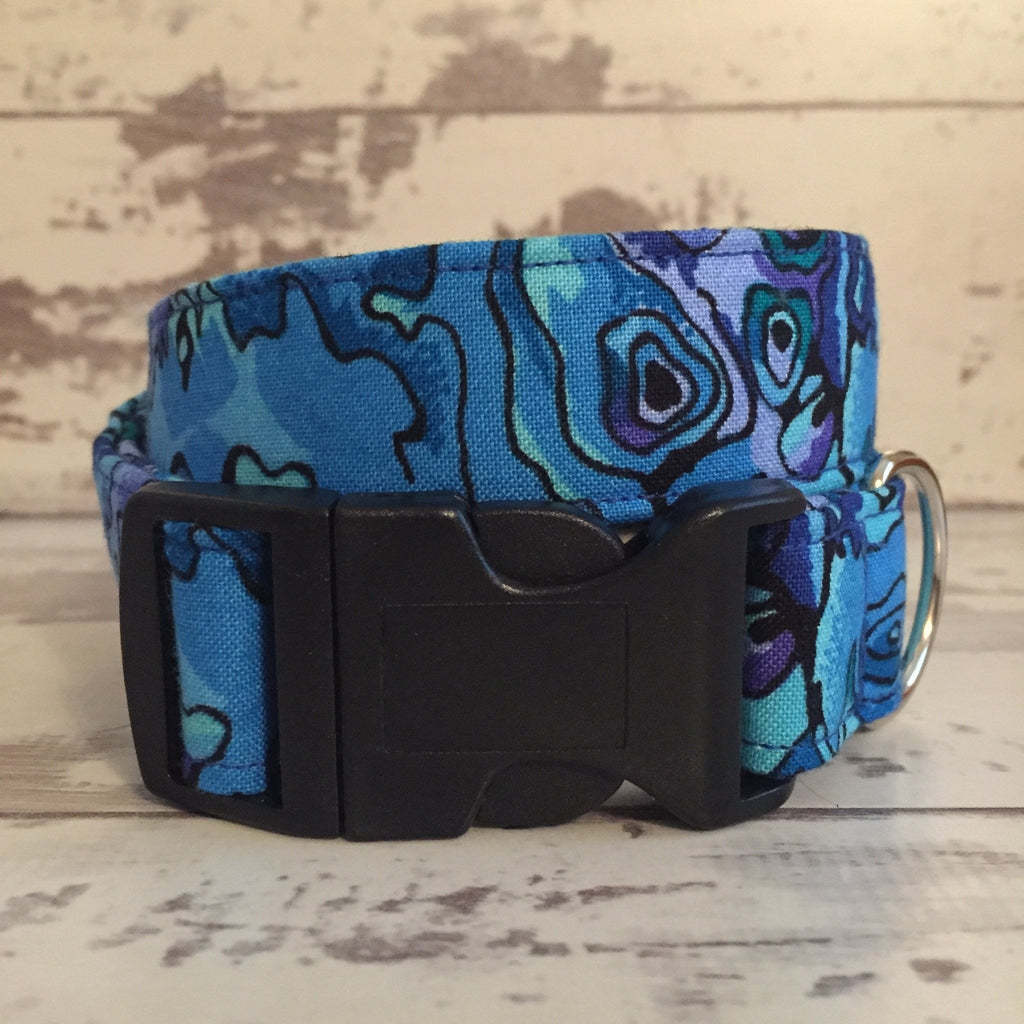 The Black Dog Company Handmade Dog Collars Crazy Paua - Dog Collar