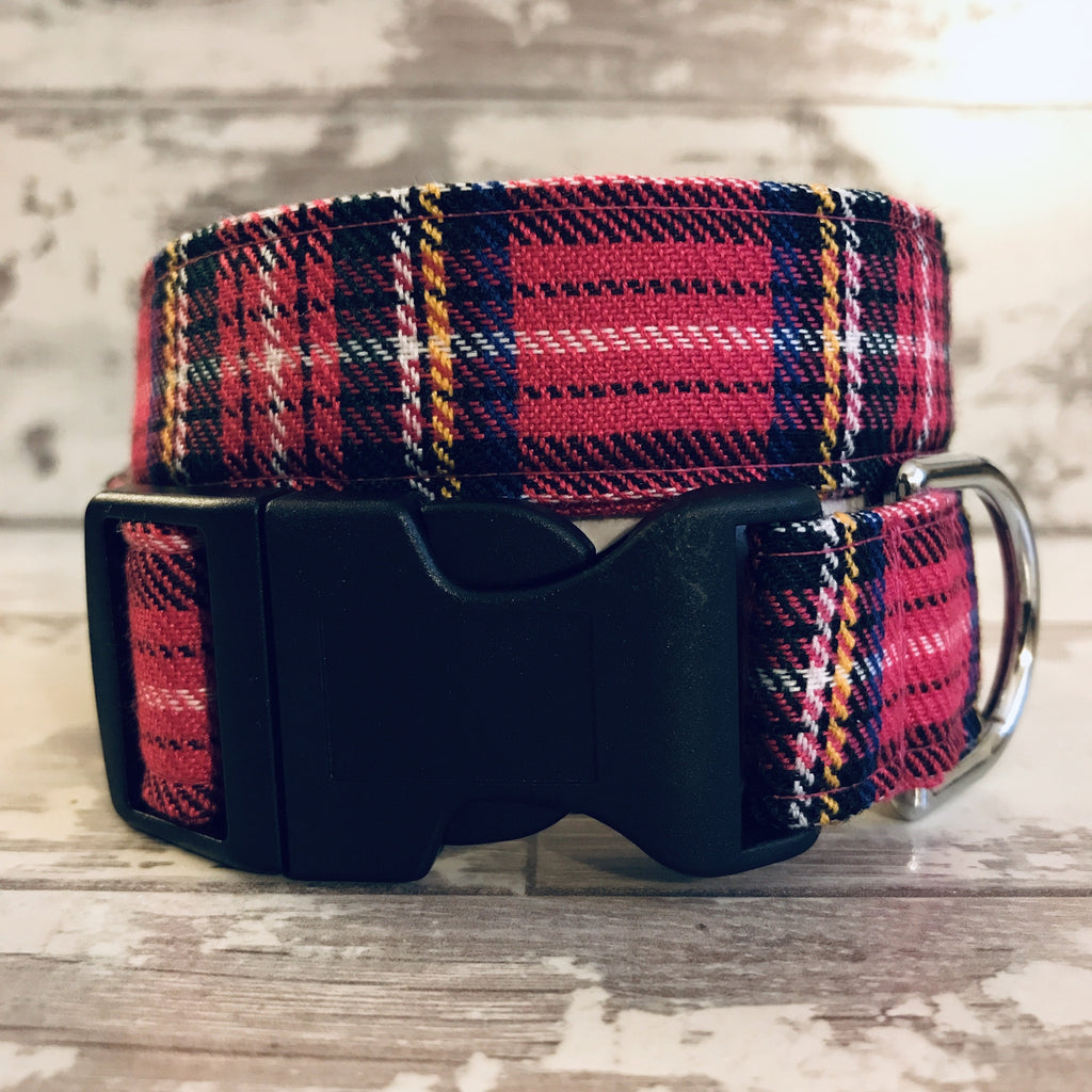 The Black Dog Company Handmade Dog Collars Extra Small Falkirk Tartan - Dog Collar