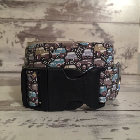 The Black Dog Company Handmade Dog Collars Liberty Cars & Trucks - Dog Collar