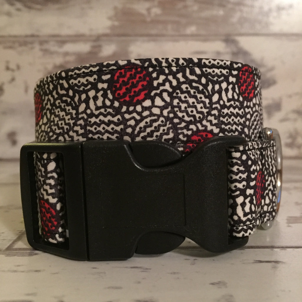 The Black Dog Company Handmade Dog Collars Liberty Spots - Dog Collar