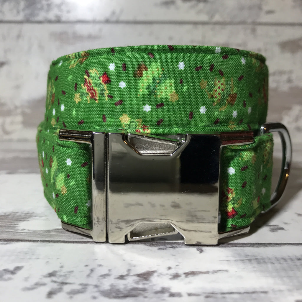 The Black Dog Company Handmade Dog Collars Mini Christmas Trees - Dog Collar