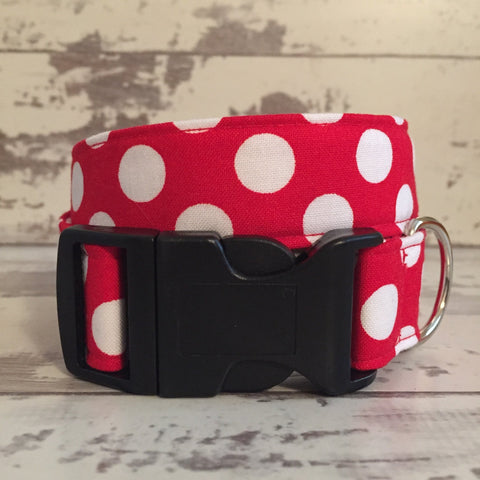 The Black Dog Company Handmade Dog Collars Minnie Spots - Dog Collar