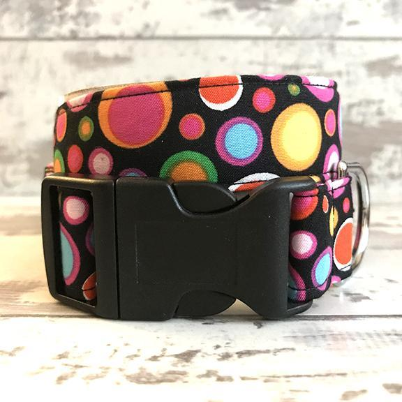The Black Dog Company Handmade Dog Collars **NEW** Disco Balls - Dog Collar