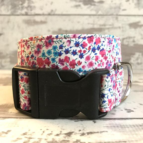 The Black Dog Company Handmade Dog Collars **NEW** Liberty Meadow - Dog Collar