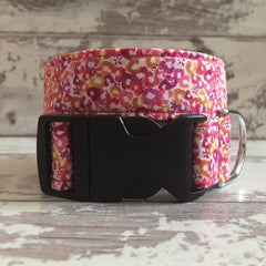 The Black Dog Company Handmade Dog Collars Sweet Cherries - Dog Collar