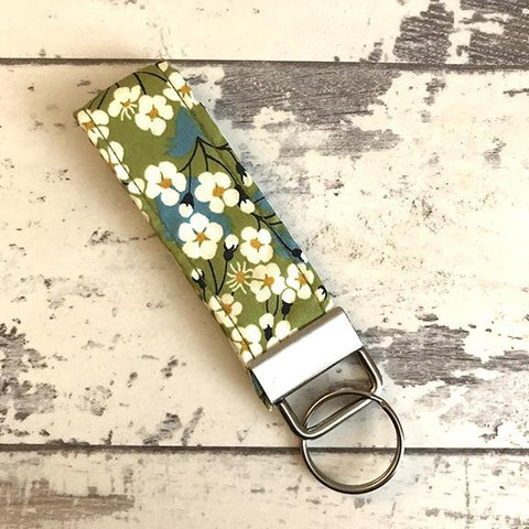 The Black Dog Company Key Ring Fob Apple Blossom Key Ring Fob