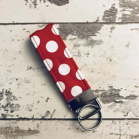 The Black Dog Company Key Ring Fob Minnie Spots Key Ring Fob