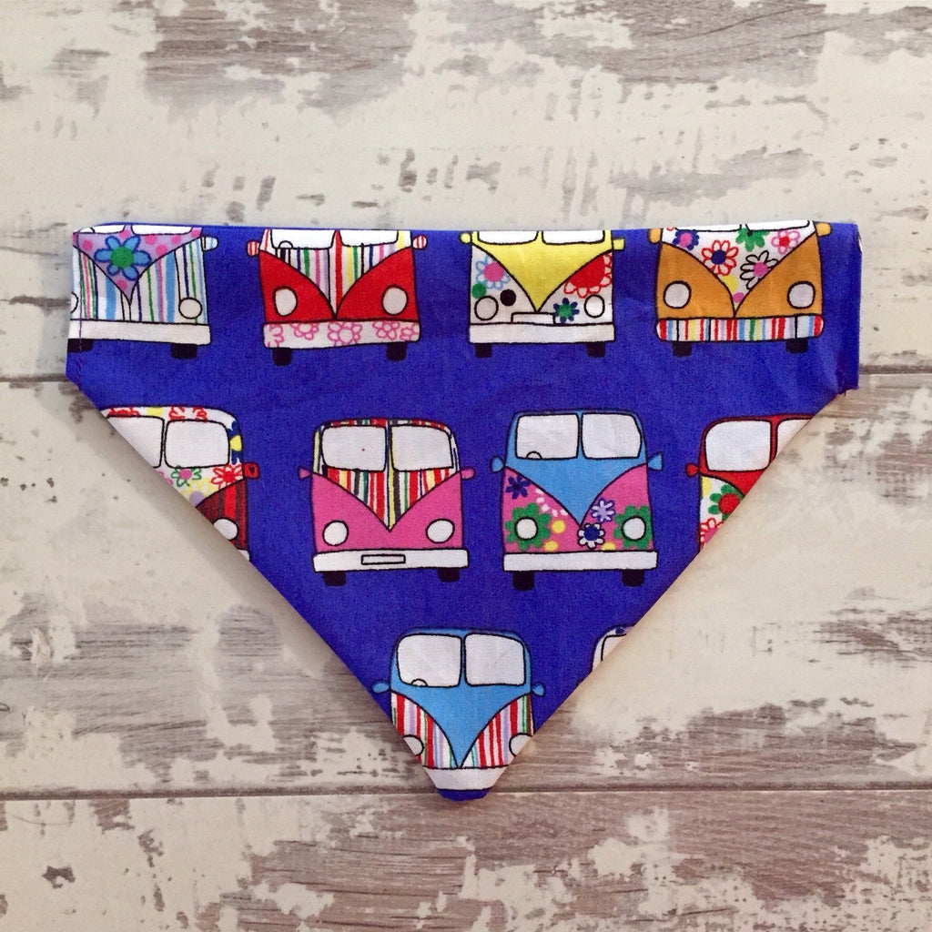 The Black Dog Company Purple / Small Campervan Bandana