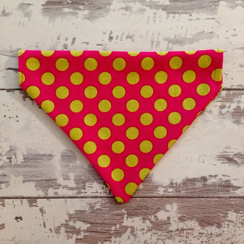 The Black Dog Company Raspberry Spots Bandana