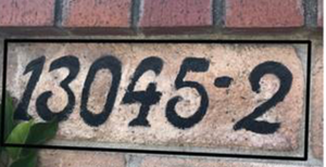 Address Sign For Liz G