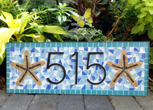 Address sign for Larry, , Green Street Mosaics